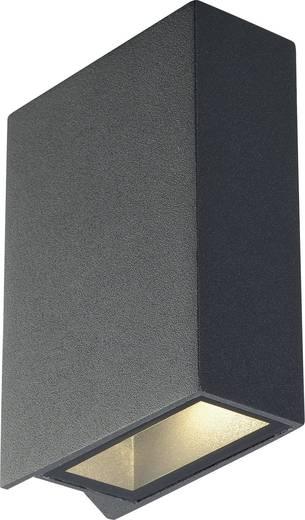 SLV Quad 2 232475 LED-Außenwandleuchte 6 W Warm-Weiß Anthrazit