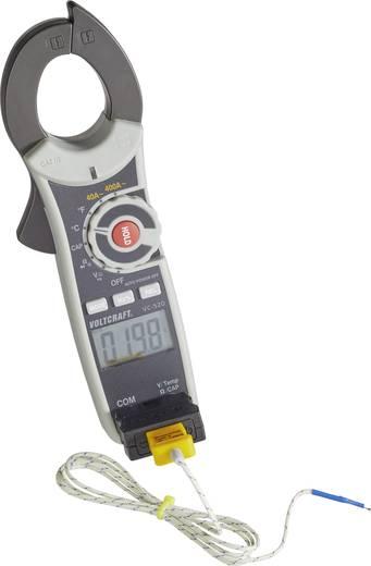 VOLTCRAFT VC-520 Stromzange digital Kalibriert nach: Werksstandard (ohne Zertifikat) CAT III 600 V Anzeige (Counts): 40
