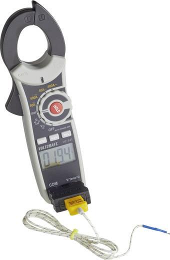Stromzange digital VOLTCRAFT VC-521 Kalibriert nach: Werksstandard (ohne Zertifikat) CAT III 600 V Anzeige (Counts): 40