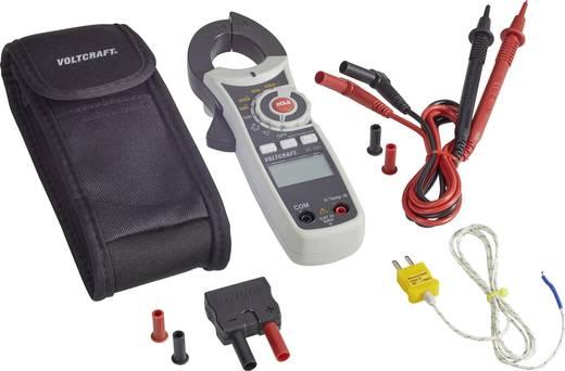 Stromzange digital VOLTCRAFT VC-521 Kalibriert nach: DAkkS CAT III 600 V Anzeige (Counts): 4000