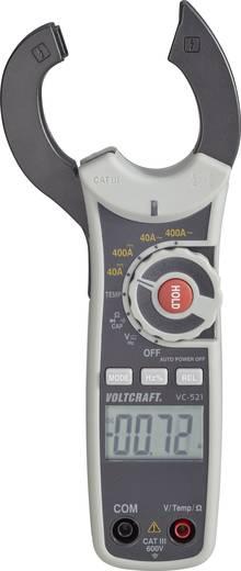 Stromzange digital VOLTCRAFT VC-521 Kalibriert nach: ISO CAT III 600 V Anzeige (Counts): 4000