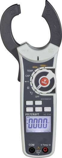 Stromzange digital VOLTCRAFT VC-530 Kalibriert nach: Werksstandard (ohne Zertifikat) CAT III 600 V Anzeige (Counts): 60