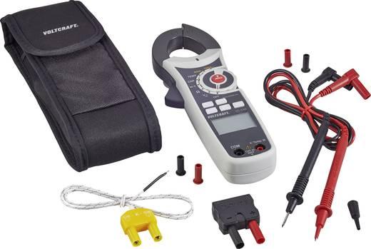 Stromzange, Hand-Multimeter digital VOLTCRAFT VC-530 (ISO) Kalibriert nach: ISO CAT III 600 V Anzeige (Counts): 6000