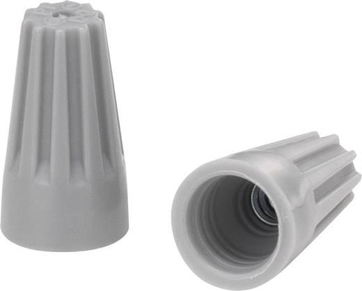 Einzeladerverbinder flexibel: - starr: 0.5-1.25 mm² Polzahl: 2 KSS 1229301 100 St. Grau
