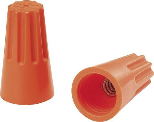 Einzeladerverbinder flexibel: - starr: 1.25-2 mm² Polzahl: 2, 3 KSS 1229303 100 St. Orange
