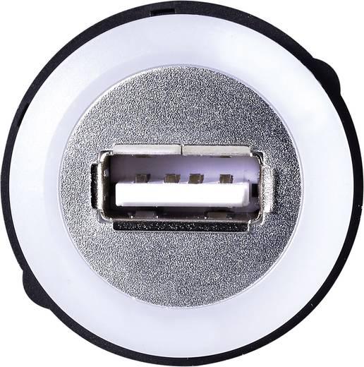 USB-Einbaubuchse 2.0 USB-05 USB-Buchse Typ A, beleuchtet auf USB-Stecker Typ A mit 60 cm Kabel TRU COMPONENTS Inhalt: 1