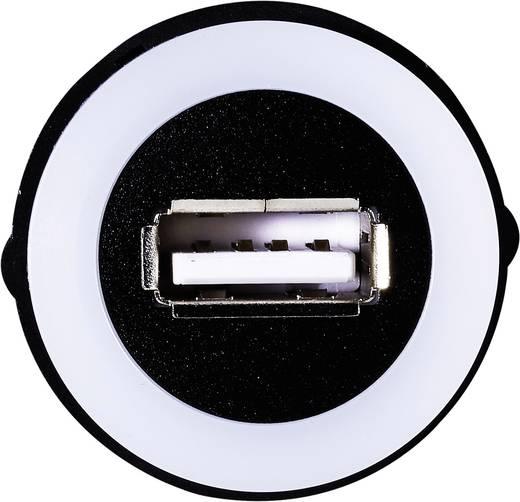 USB-Einbaubuchse 2.0 Buchse, Einbau USB-05-BK USB-Buchse Typ A, beleuchtet auf USB-Stecker Typ A mit 60 cm Kabel TRU COM