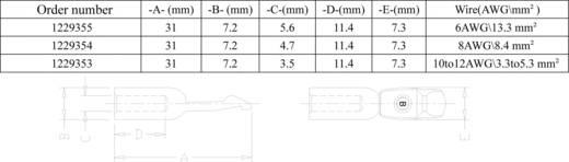 Crimpkontakte für 50 / 75 A Hochstrom-Batteriesteckverbinder 3,3 ‑ 5,3 mm² Inhalt: 1 St.