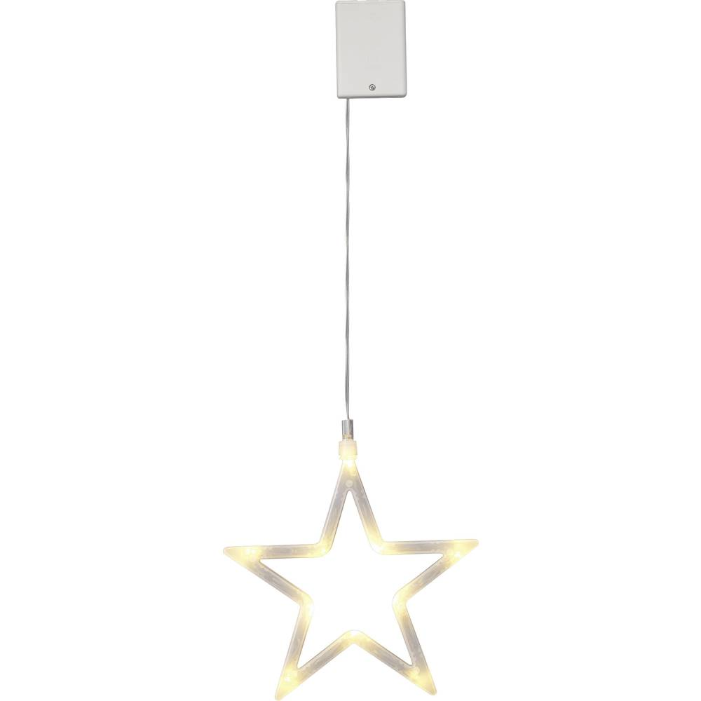 led weihnachtsdekoration stern warm wei led polarlite lba. Black Bedroom Furniture Sets. Home Design Ideas