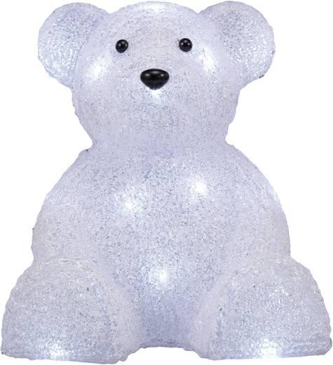 Polarlite LBA-52-004 Acryl-Figur Eisbär Weiß LED Weiß