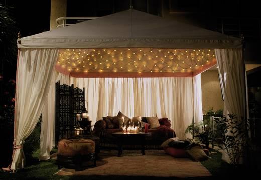 Lichternetz Außen 230 V/50 Hz 200 LED Warm-Weiß (L x B) 300 cm x 200 cm Polarlite
