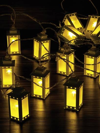 Polarlite WS-131017909 16LAP Motiv-Lichterkette Laternen
