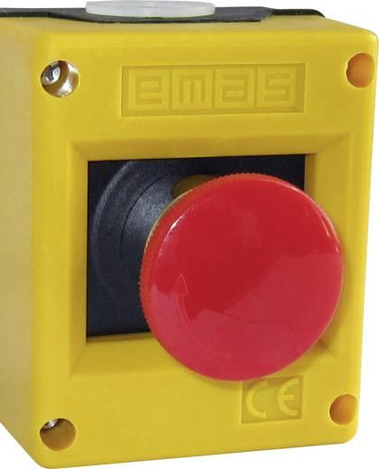 Not-Aus-Schalter im Gehäuse 220 V/AC 4 A 1 Öffner EMAS PK1SE IP65 1 St.