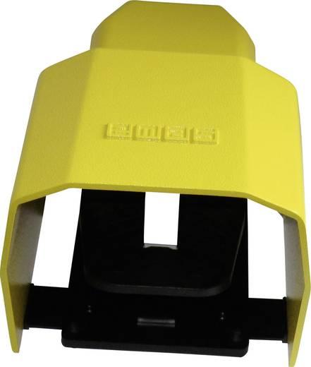 EMAS PDKS11BX10 Fußschalter 250 V/AC 4 A 1 Pedal mit Schutzhaube 1 Schließer, 1 Öffner IP65 1 St.