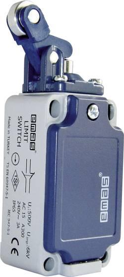 Interrupteur de fin de course EMAS L52K13MIM411 240 V/AC 3 A levier à galet momentané IP65 1 pc(s)