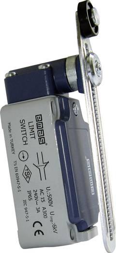 Endschalter 240 V/AC 3 A Rollenhebel mit Schraubgewinde tastend EMAS L52K13MEP123 IP65 1 St.