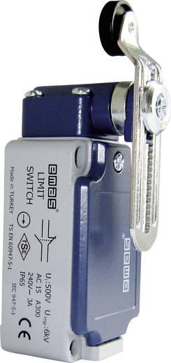 Endschalter 240 V/AC 3 A Rollenhebel mit Schraubgewinde tastend EMAS L52K13MEP124 IP65 1 St.