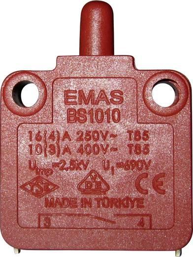 EMAS BS1010 Schnappschalter 250 V/AC 16 A 1 x Aus/(Ein) IP40 tastend 1 St.