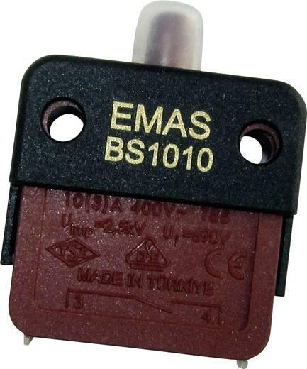 EMAS BS1010-E Schnappschalter 250 V/AC 16 A 1 x Aus/(Ein) IP40 tastend 1 St.