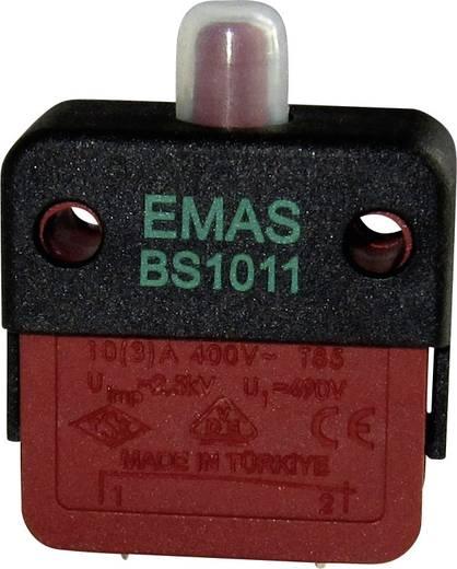 EMAS BS1011-E Schnappschalter 250 V/AC 16 A 1 x Ein/(Aus) IP40 tastend 1 St.
