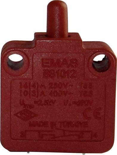 EMAS BS1012 Schnappschalter 250 V/AC 16 A 1 x Aus/(Ein) IP40 tastend 1 St.