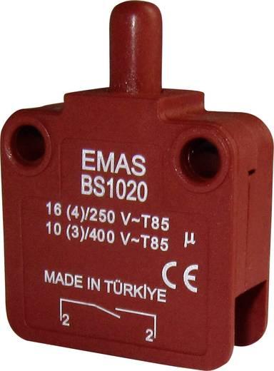 EMAS BS1020 Schnappschalter 250 V/AC 16 A 1 x Aus/(Ein) IP40 tastend 1 St.