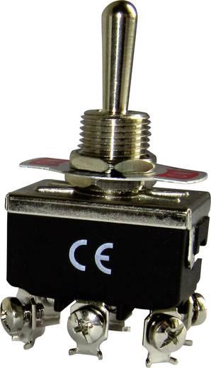 Kippschalter 250 V/AC 16 A 2 x Ein/Aus/Ein EMAS MA123 IP20 rastend/0/rastend 1 St.