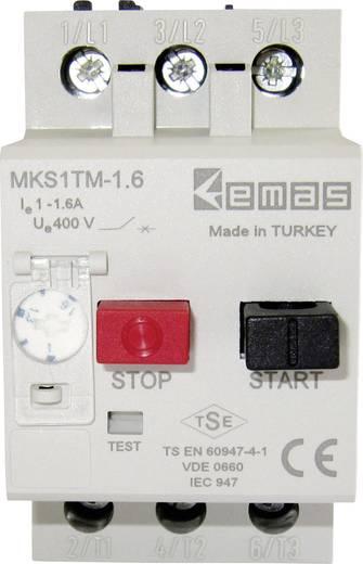Motorschutzschalter 400 V/AC 1.6 A EMAS MKS1TM-1.6 1 St.