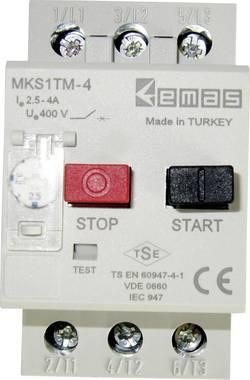 Disjoncteur de protection moteur EMAS MKS1TM-4 400 V/AC 4.0 A 1 pc(s)