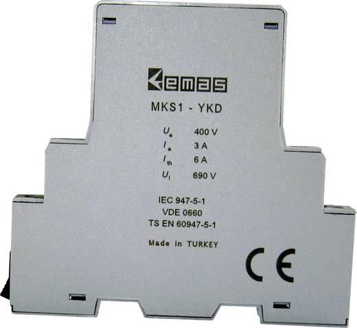 Hilfsschalter 400 V/AC 3 A 1 Schließer, 1 Öffner EMAS MKS1-YKD01 1 St.