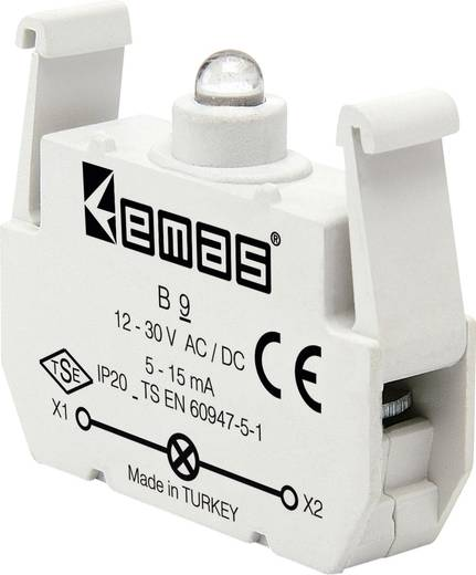 LED-Element Grün 30 V DC/AC EMAS B9 1 St.