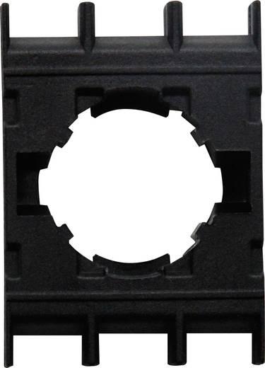 Adapterplatte 1-fach Schwarz EMAS BA 1 St.