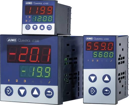 Jumo 601595 Temperaturregler L, J, T, K, E, N, S, R, Pt100, Pt1000, KTY Relais 3 A, RS 485 (B x H) 48 mm x 48 mm