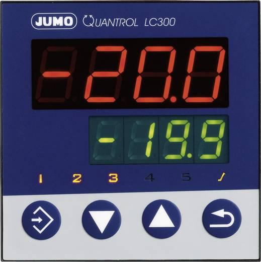 Jumo 601600 Temperaturregler L, J, T, K, E, N, S, R, Pt100, Pt1000, KTY Relais 3 A, RS 485 (L x B x H) 80 x 96 x 96 mm