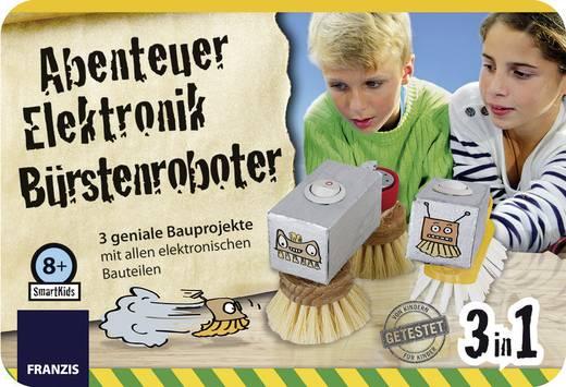 Experimentier-Set Franzis Verlag Abenteuer Elektronik Bürsten Roboter 978-3-645-65239-1 ab 8 Jahre