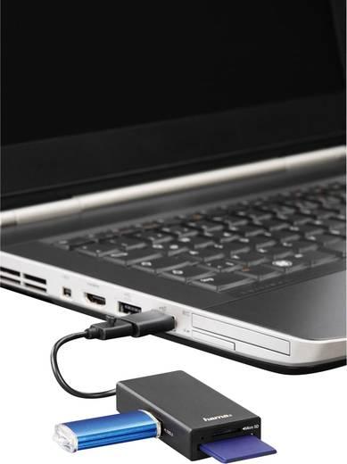 Hama 1 Port USB 2.0-Hub mit OTG-Funktion, mit eingebautem SD-Kartenleser Schwarz