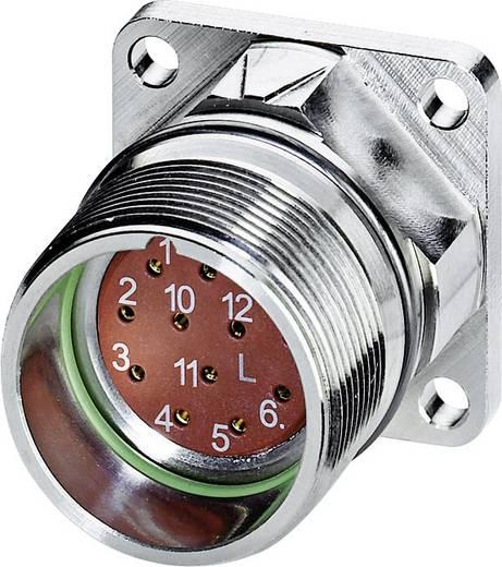 M23 Gerätesteckverbinder. gerade RF-12S1N8AWA00 Silber Phoenix Contact Inhalt: 1 St.
