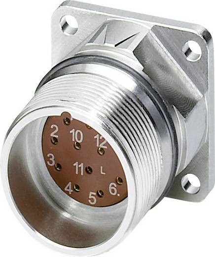 M23 Gerätesteckverbinder. gerade RF-17S1N8AWB00 Silber Phoenix Contact Inhalt: 1 St.