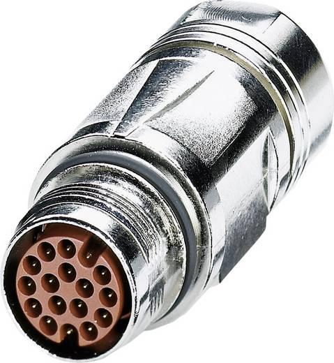 M17 Kupplungsteckverbinder ST-08P1N8A9004S Silber Phoenix Contact Inhalt: 1 St.