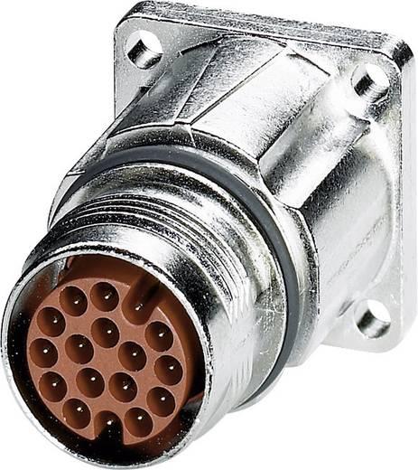 M17 Compact Gerätesteckverbinder Vorderwandmontage ST-17P1N8AW400S Silber Phoenix Contact Inhalt: 1 St.