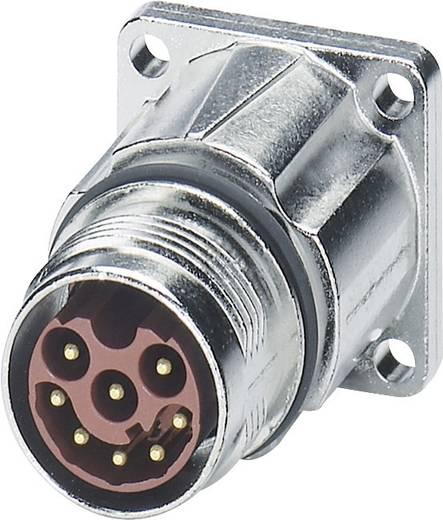 M17 Compact Gerätesteckverbinder Vorderwandmontage ST-08P1N8AW400S Silber Phoenix Contact Inhalt: 1 St.