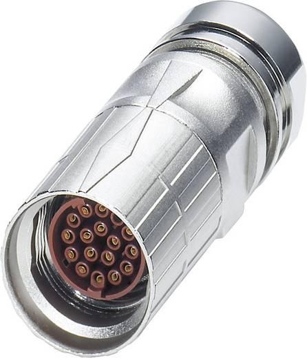 M17 Kabelsteckverbinder ST-08S1N8A8004S Silber Phoenix Contact Inhalt: 1 St.