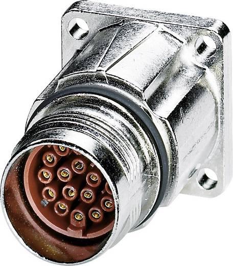 M17 Compact Gerätesteckverbinder Vorderwandmontage ST-17S1N8AW400S Silber Phoenix Contact Inhalt: 1 St.