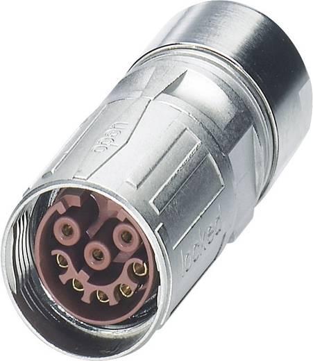 M17 Compact Kabelsteckverbinder ST-17S1N8A8K04S Silber Phoenix Contact Inhalt: 1 St.