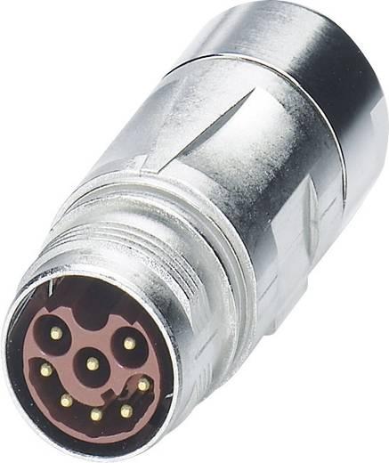 M17 Compact Kupplungssteckverbinder ST-17P1N8A9K02S Silber Phoenix Contact Inhalt: 1 St.