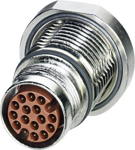 M17 Gerätesteckverbinder. zentrales Befestigungsgewinde ST-17P1N8AH100S Silber Phoenix Contact Inhalt: 1 St.