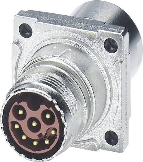 M17 Compact Steckverbinder Wanddurchführung ST-08P1N8ACK02S Silber Phoenix Contact Inhalt: 1 St.