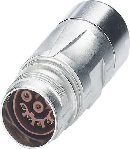 M17 Compact Kupplungssteckverbinder ST-17S1N8A9K03S Silber Phoenix Contact Inhalt: 1 St.