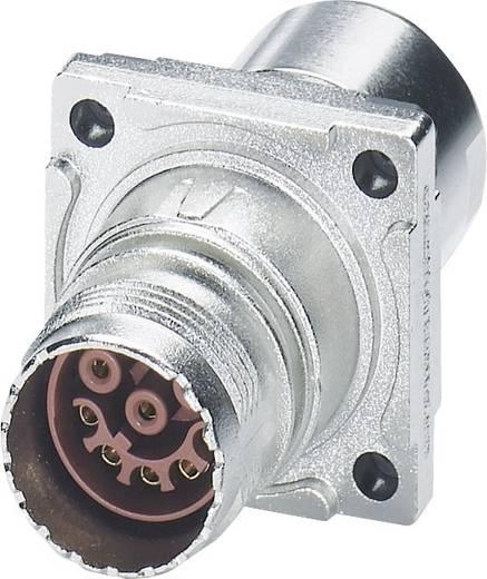 M17 Compact Steckverbinder Wanddurchführung ST-17S1N8ACK02S Silber Phoenix Contact Inhalt: 1 St.