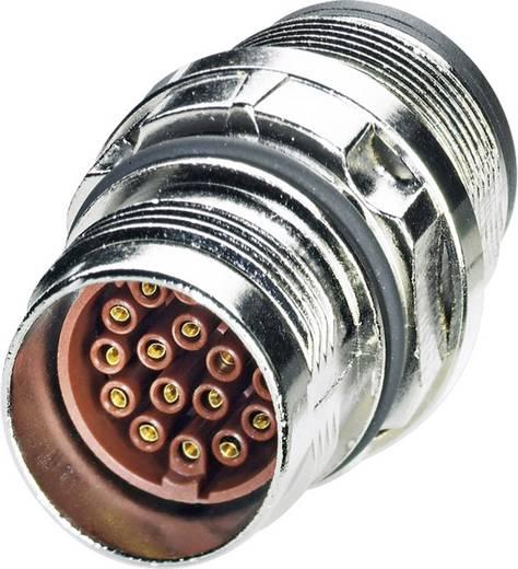 M17 Gerätesteckverbinder. zentrales Befestigungsgewinde ST-08S1N8A6100S Silber Phoenix Contact Inhalt: 1 St.